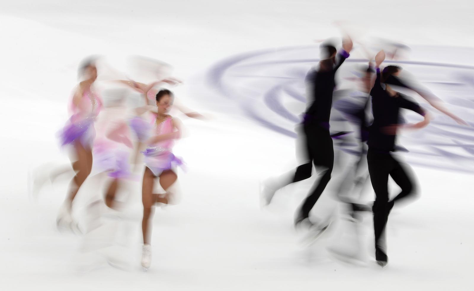 Mistrzostwa Europy w łyżwiarstwie figurowym, Graz, Austria Fot. PAP/EPA/TATYANA ZENKOVICH