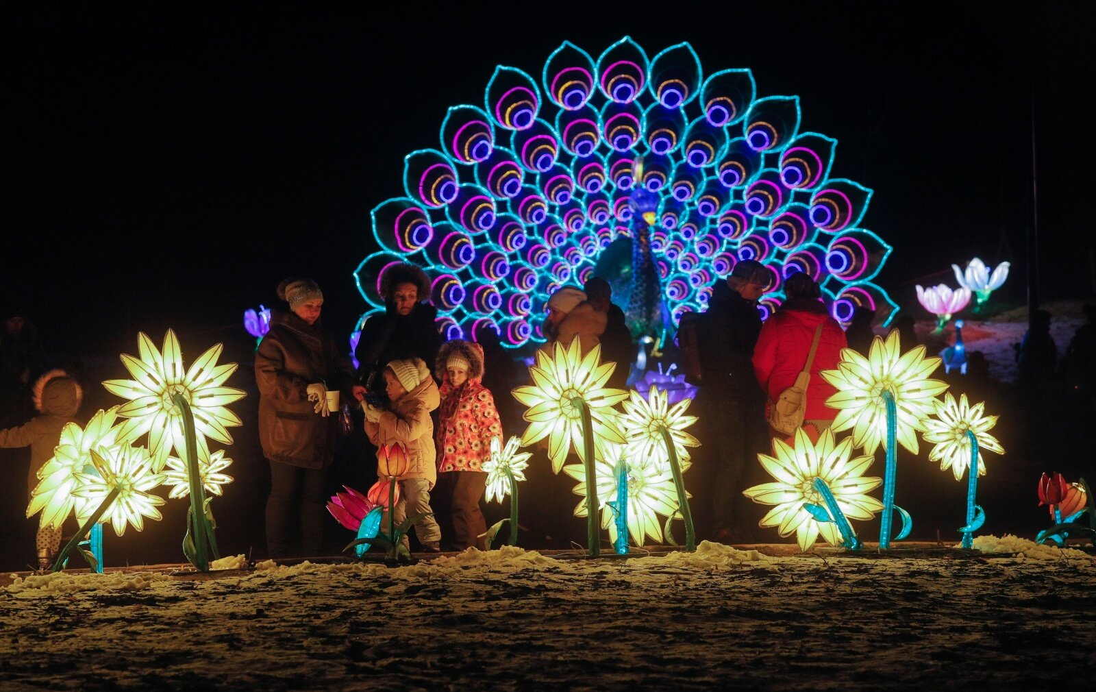 Nowy chiński rok na Ukrainie fot.  EPA/SERGEY DOLZHENKO