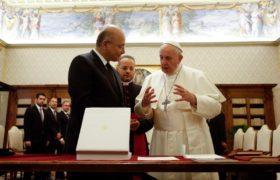 prezydent iraku u papieża franciszka