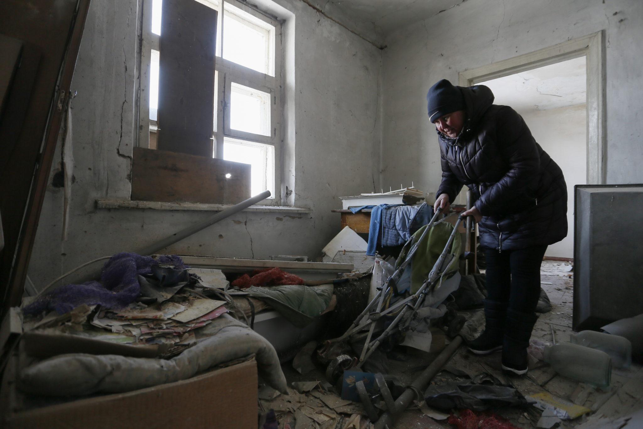 Bieda na Ukrainie. Fot. EPA/DAVE MUSTAINE