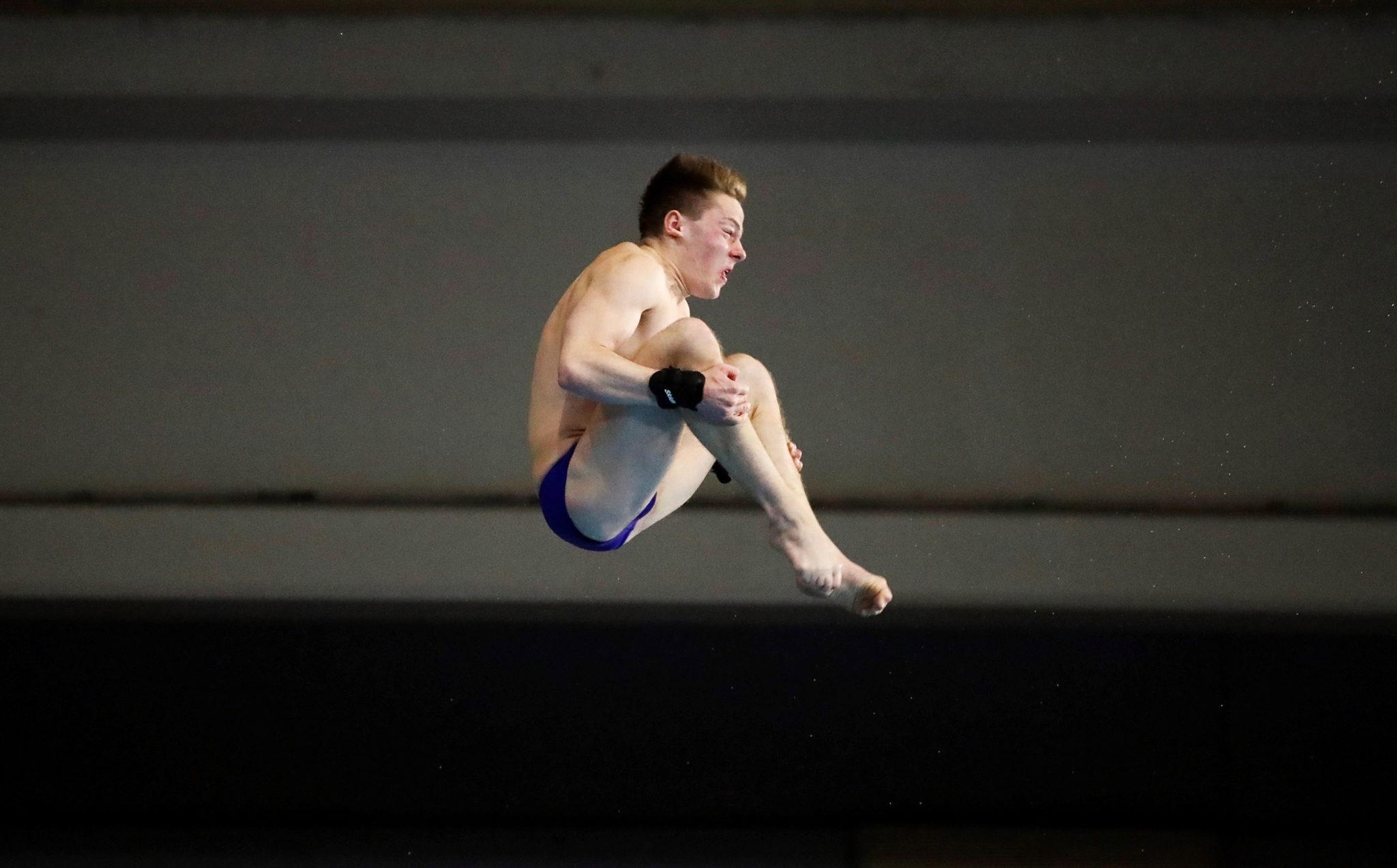 FINA Diving Grand Prix Madrid 2020. Fot.  EPA/David Fernandez