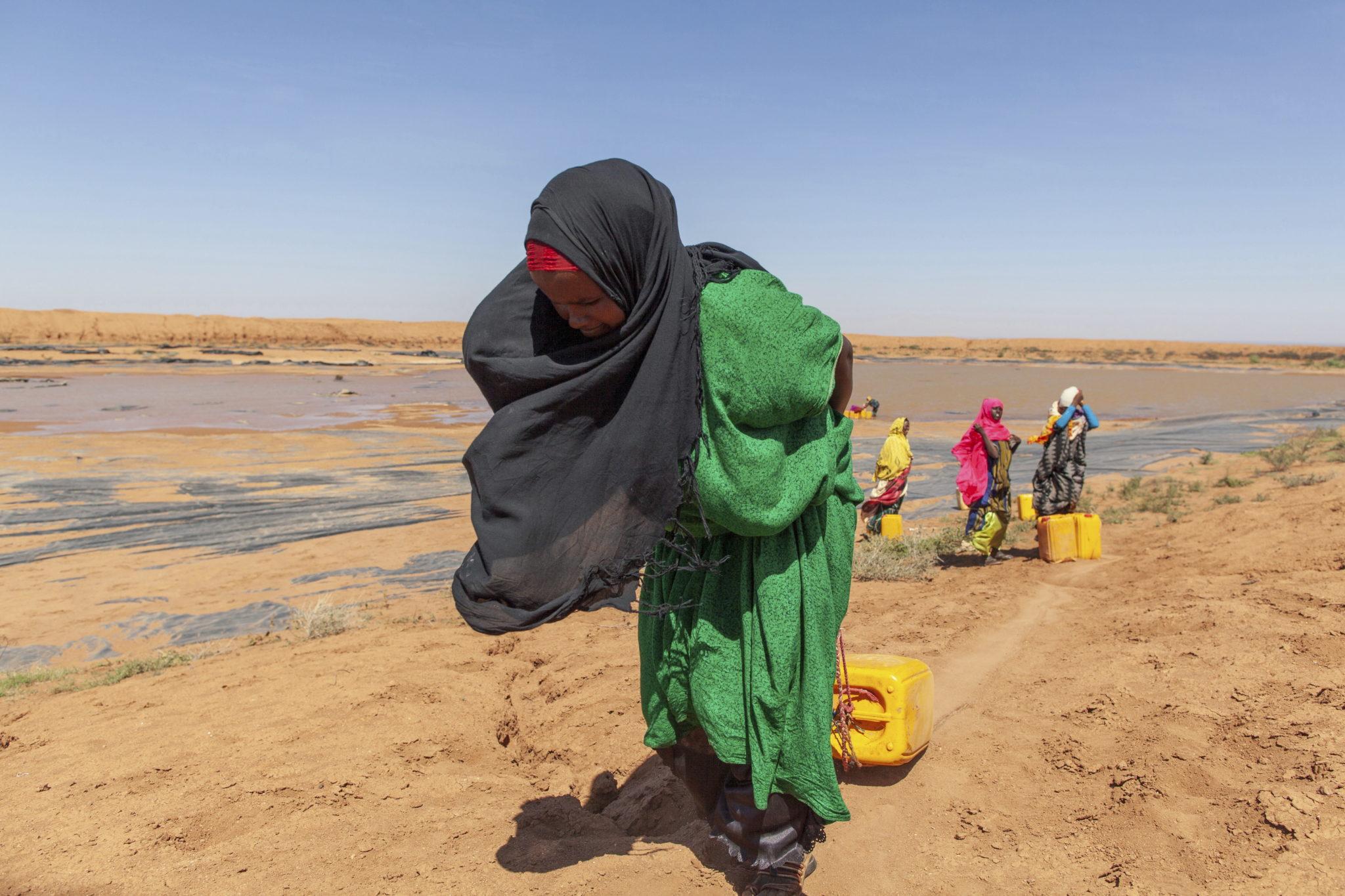 Susza w Somalii. fot. EPA/MARK NAFTALIN / UNITED NATIONS DEVELOPMENT PROGRAMME
