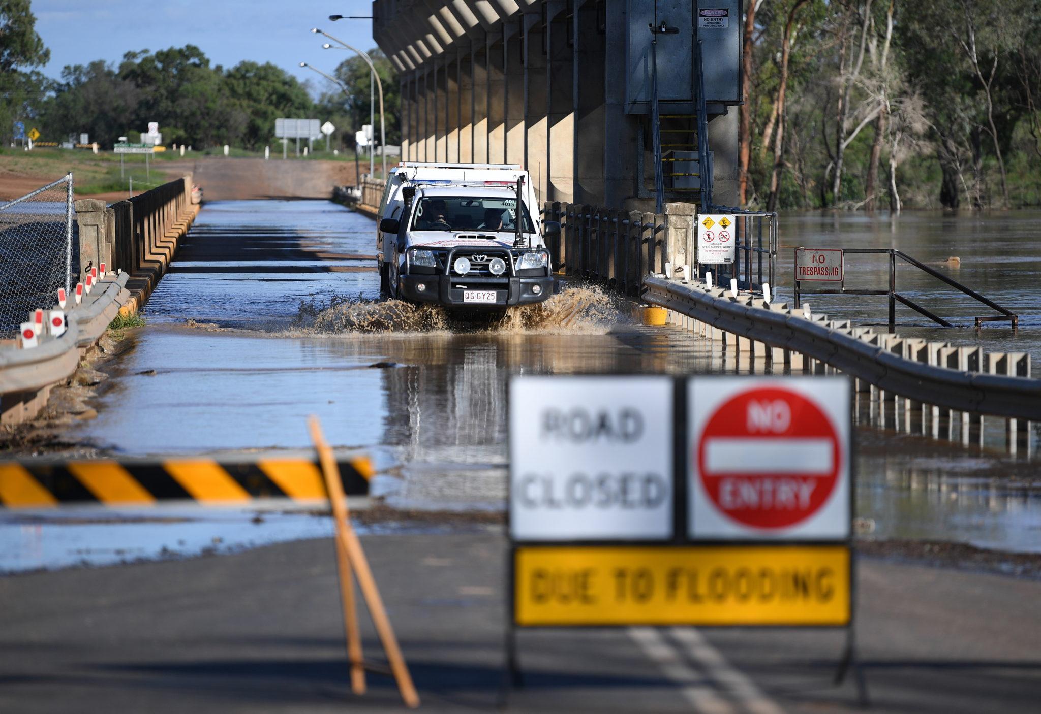 Powodzie w Australii. fot. EPA/DAN PELED
