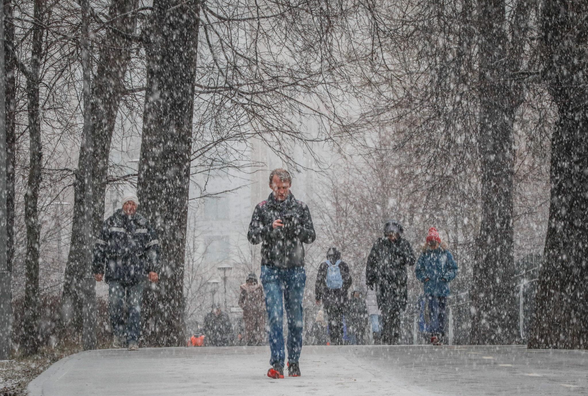 Luty w Rosji. fot. EPA/YURI KOCHETKOV
