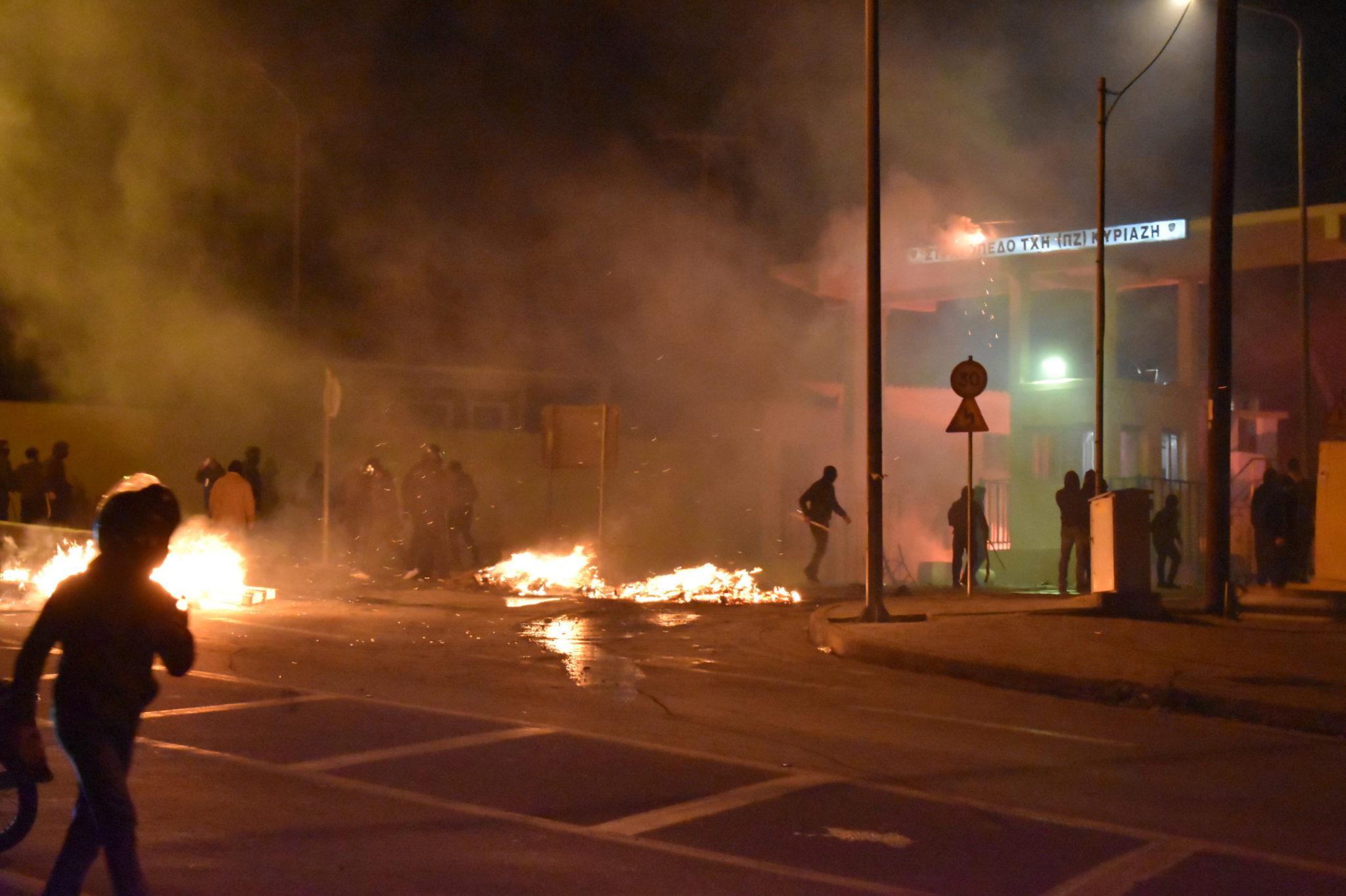 Protesty w Grecji. fot. EPA/STRATIS BALASKAS