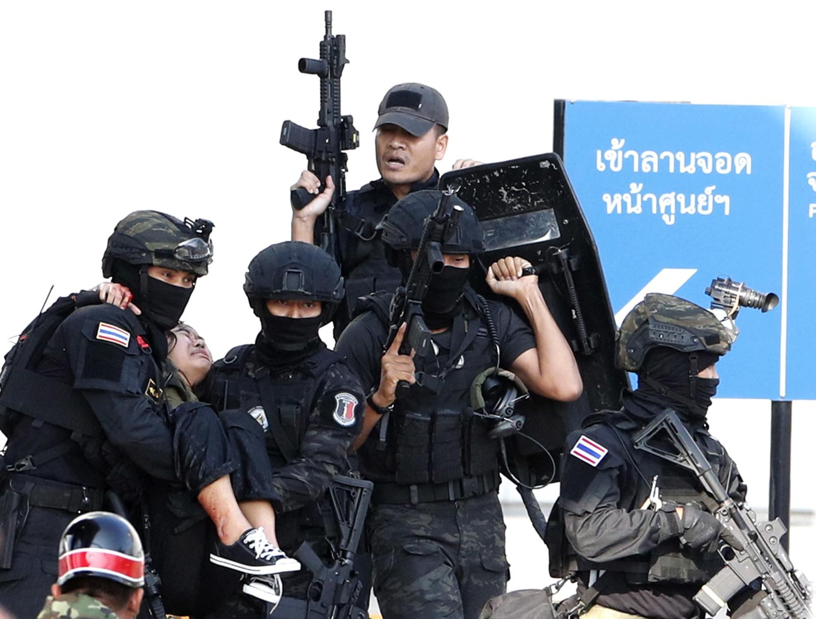 tajlandia strzelanina