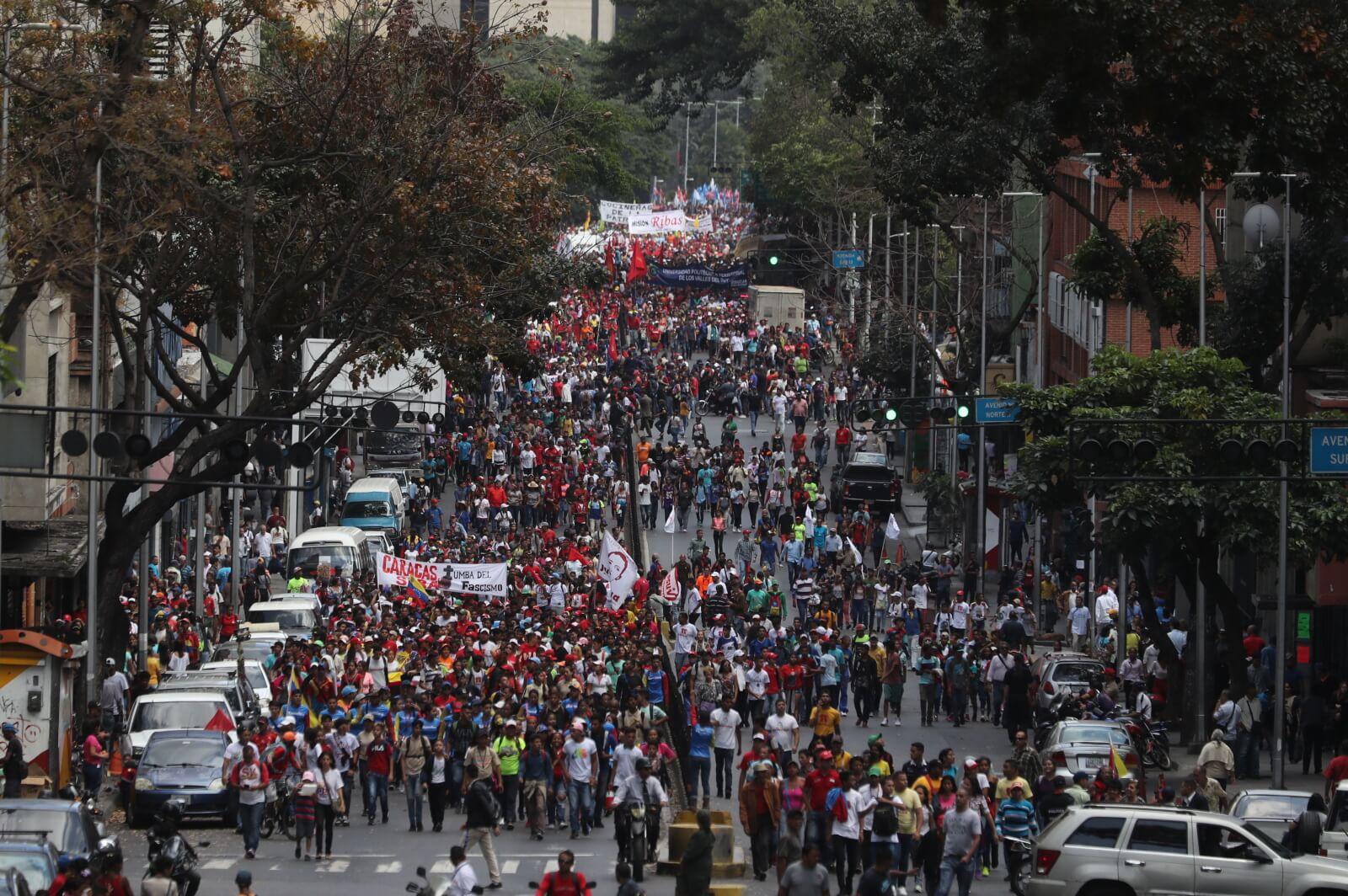 Kryzys w Wenezueli ciągle trwa fot. EPA/Miguel Gutierrez