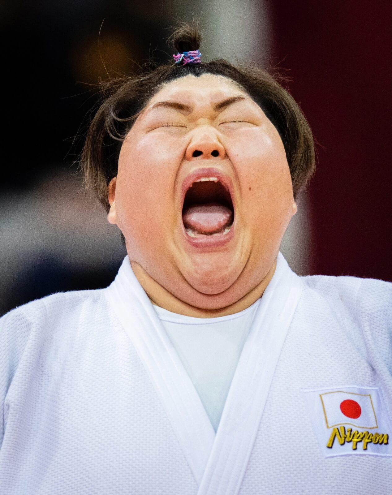 Zawody judo w Dusseldorfie fot. EPA/MORITZ MUELLER