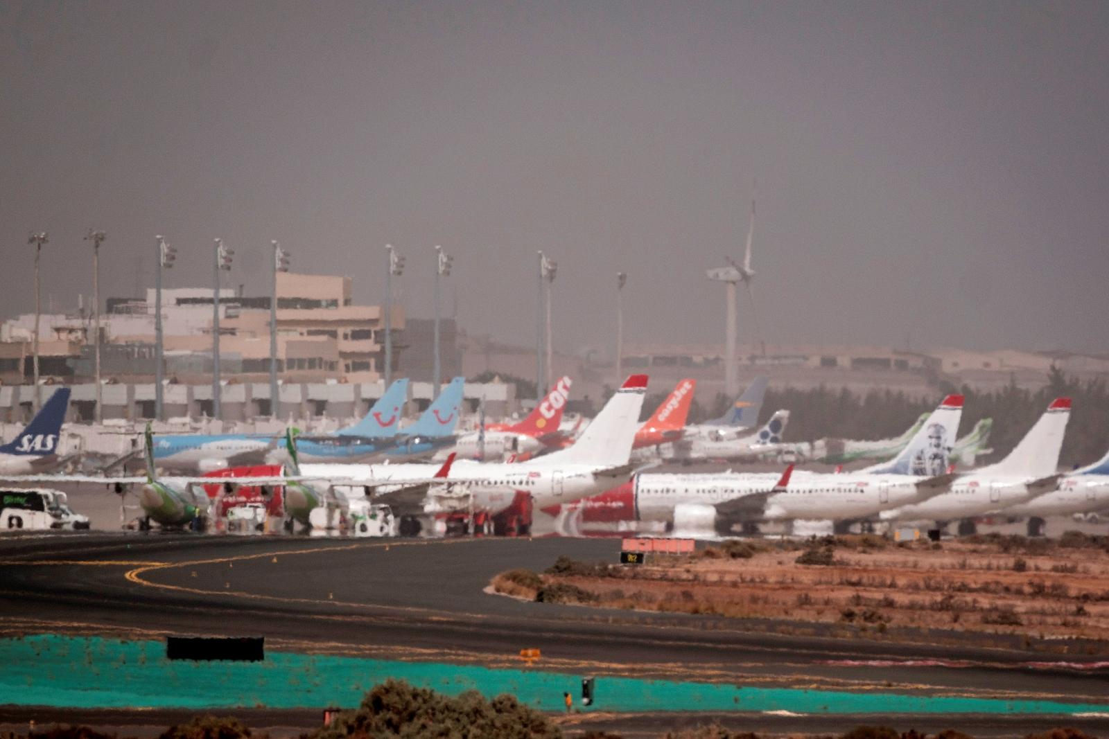 Samoloty fot. EPA/Angel Medina G.