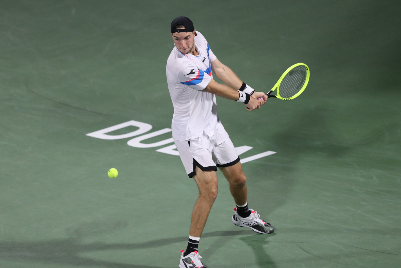 Mecz tenisa fot.  EPA/ALI HAIDER
