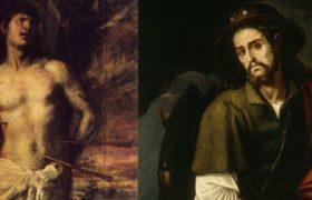 św. roch i św. sebastian