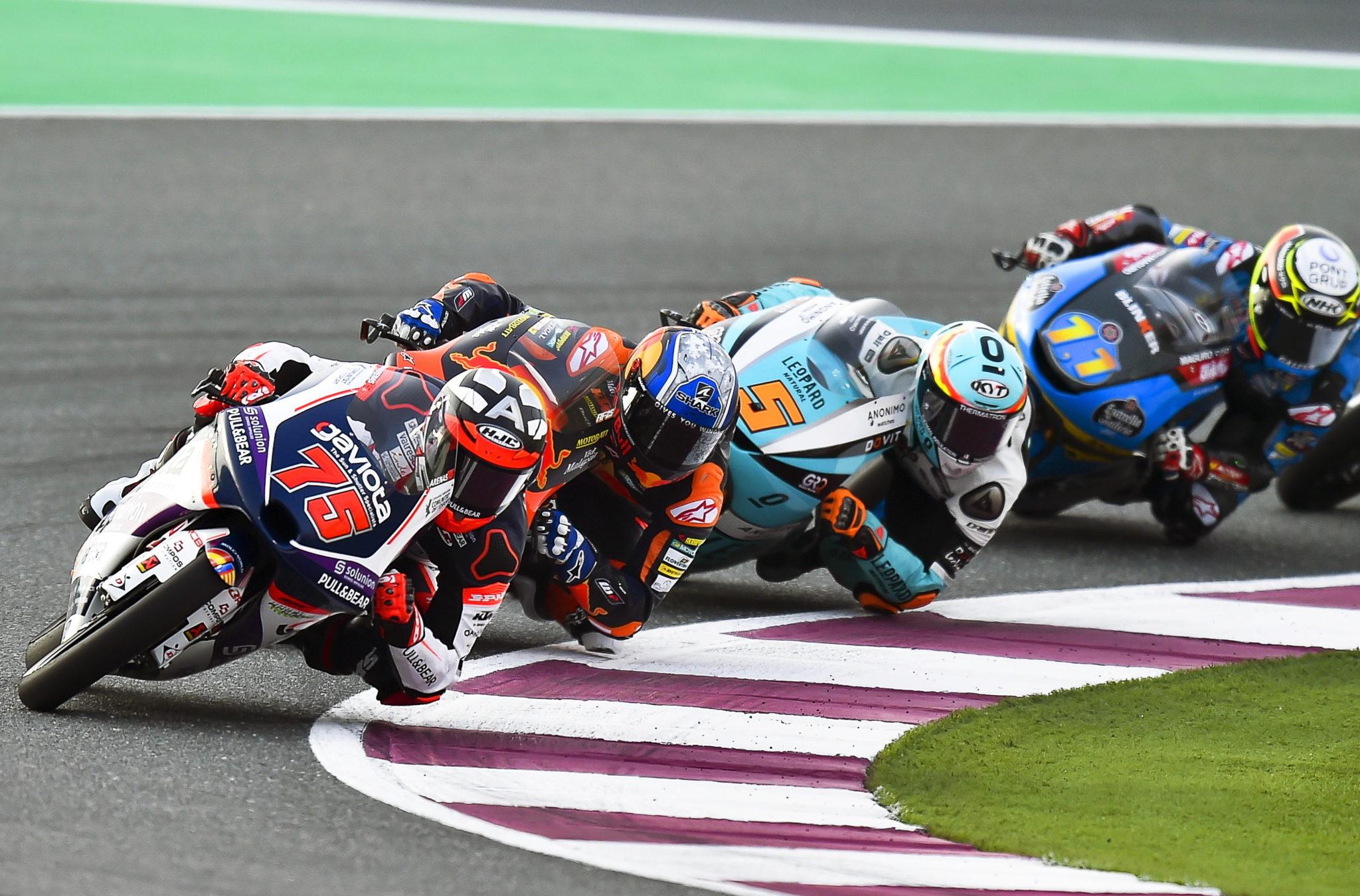 Katar: Motocyklowy Grand Prix w Doha, fot. EPA/NOUSHAD THEKKAYIL