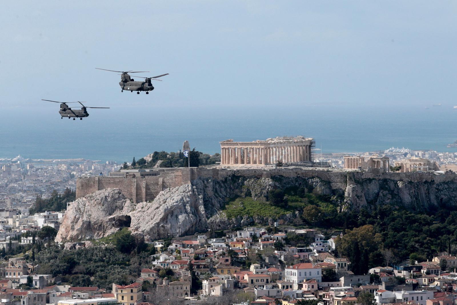 Grecja Dzień Niepodległości EPA/PANTELIS SAITAS