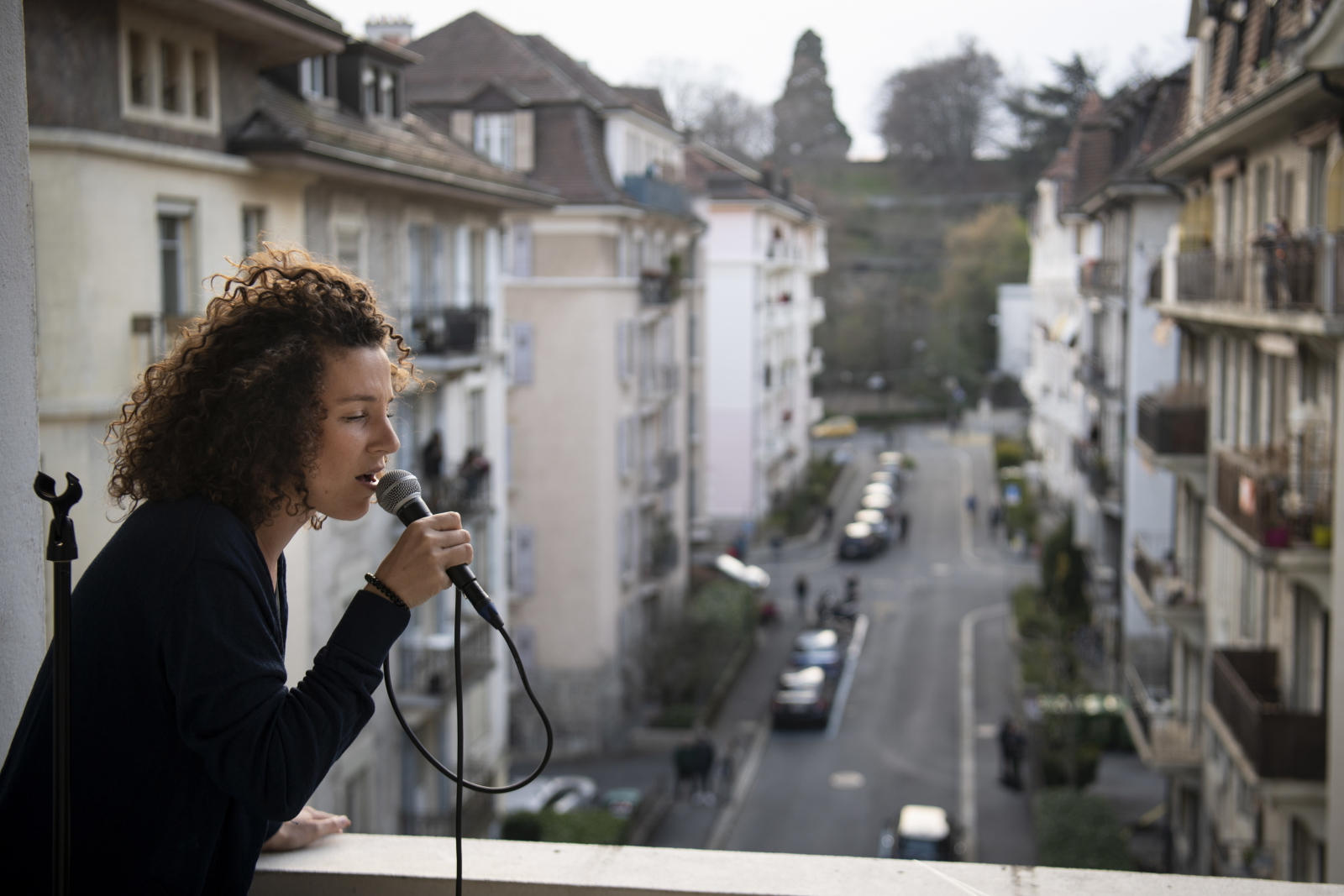 Kwarantanna w Szwajcarii fot. EPA/LAURENT GILLIERON