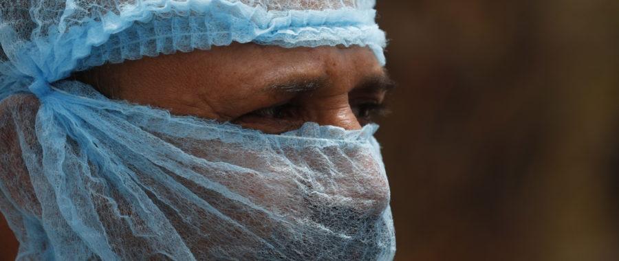 Koronawirus w Jemenie fot. EPA/YAHYA ARHAB