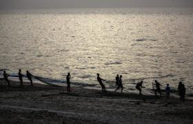 Strefa Gazy fot. EPA/MOHAMMED SABER