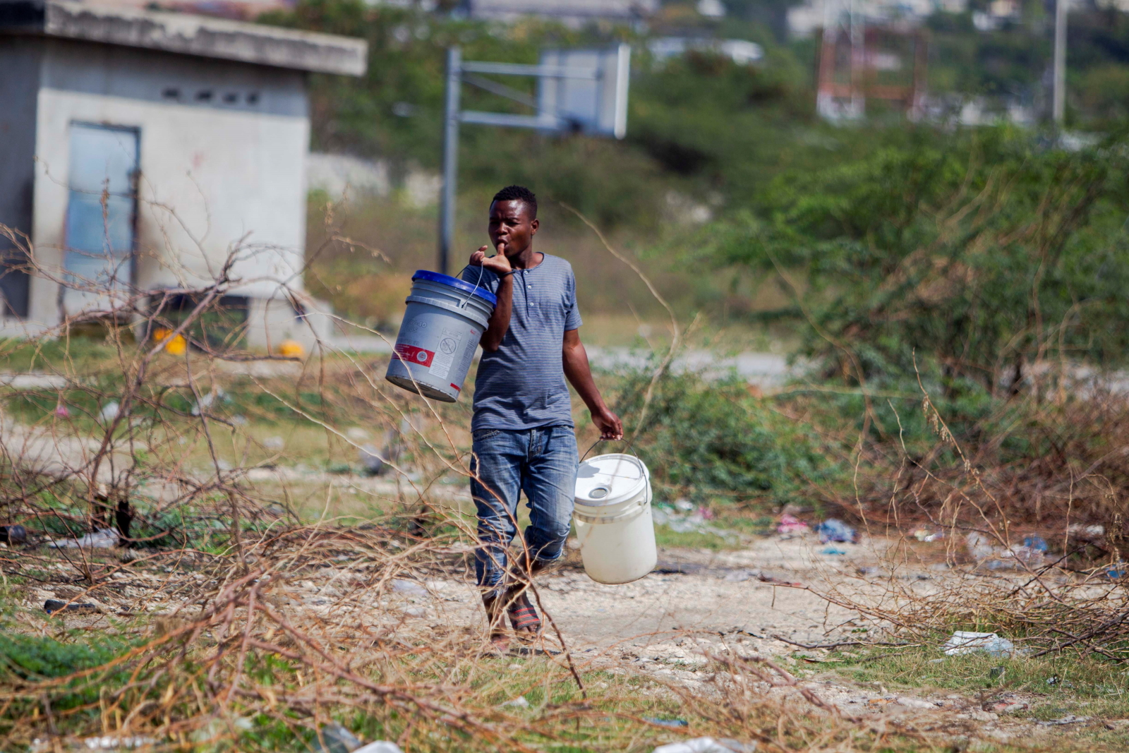 Koronawirus na Haiti. Fot. EPA/Jean Marc Herve Abelard