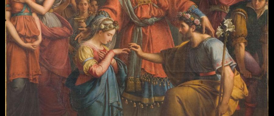 ślub maryi i józefa
