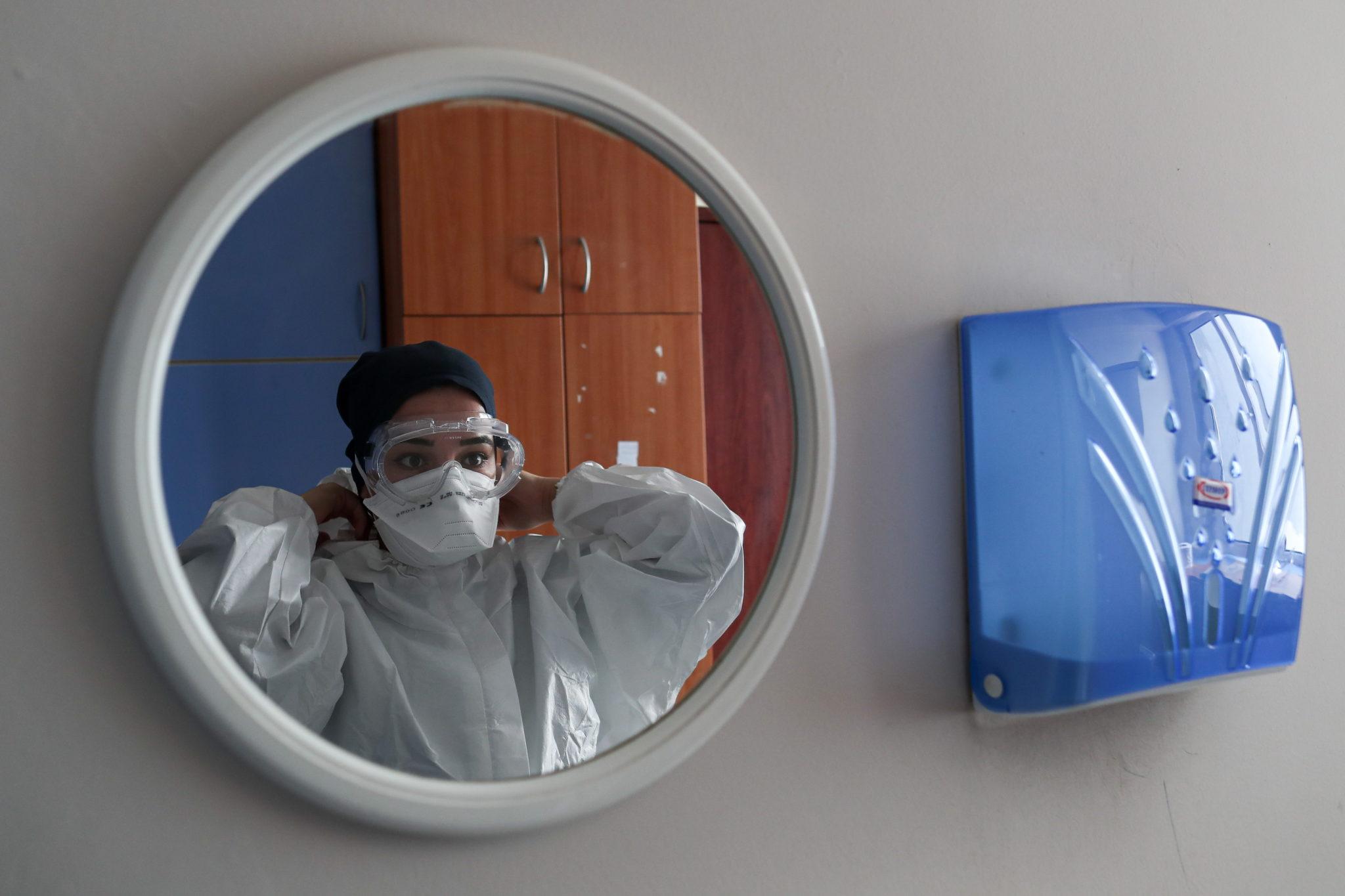 Szpital w Turcji. Fot. EPA/SEDAT SUNA