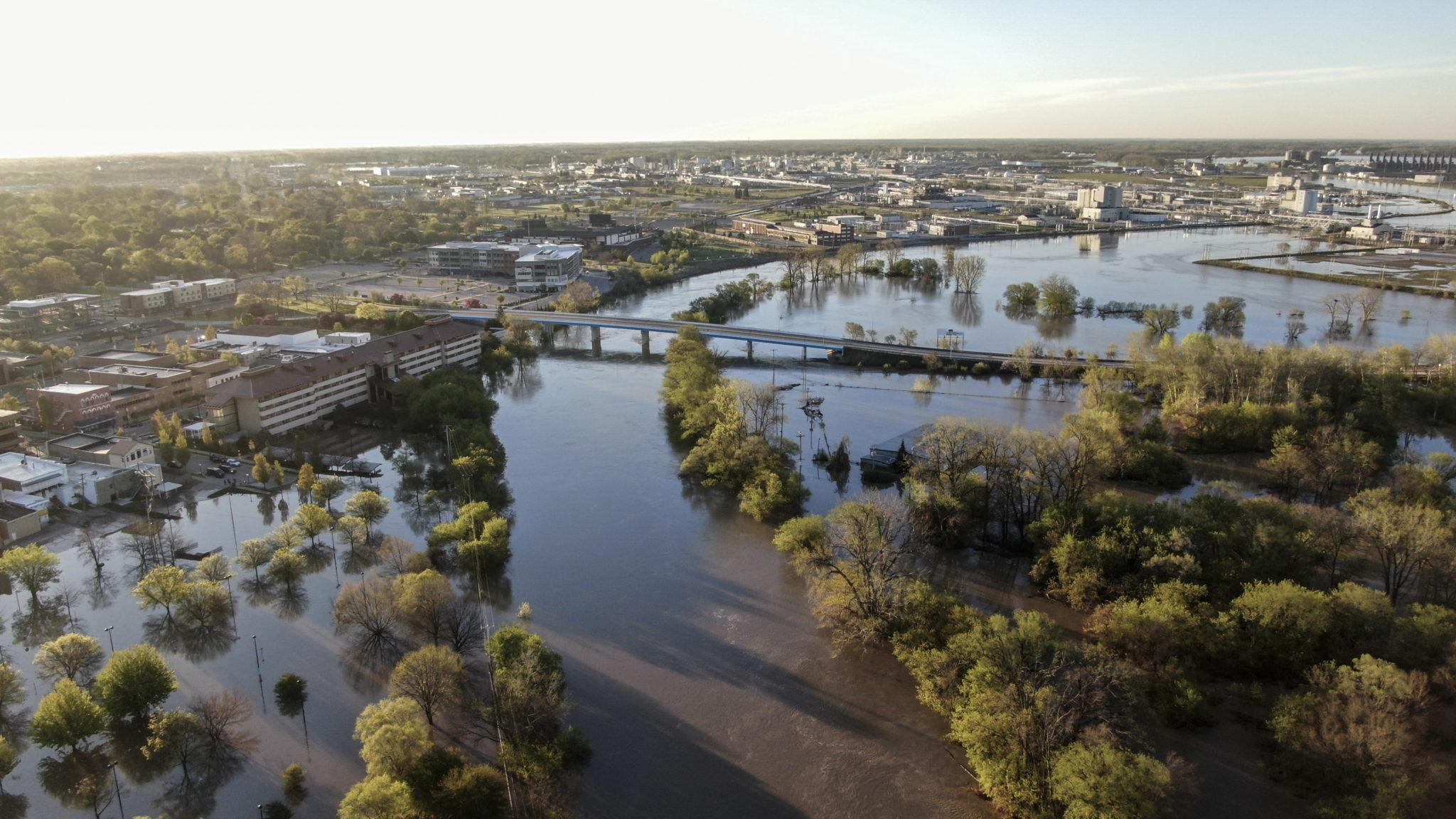 USA: powódź w Michigan,  EPA/TANNEN MAURY