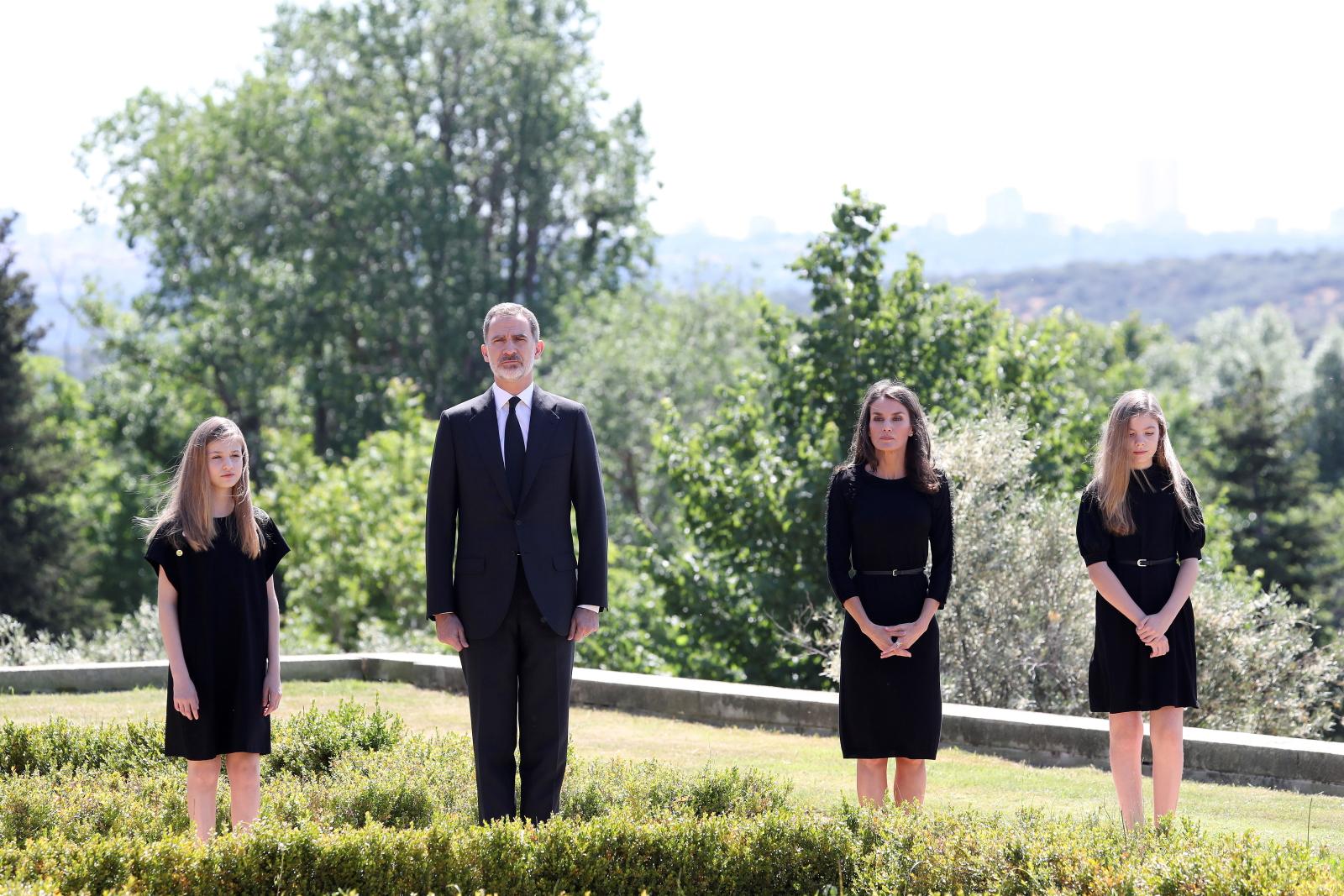 Hiszpańska rodzina krówska   EPA/Jose Jimenez / Spanish Royal Household