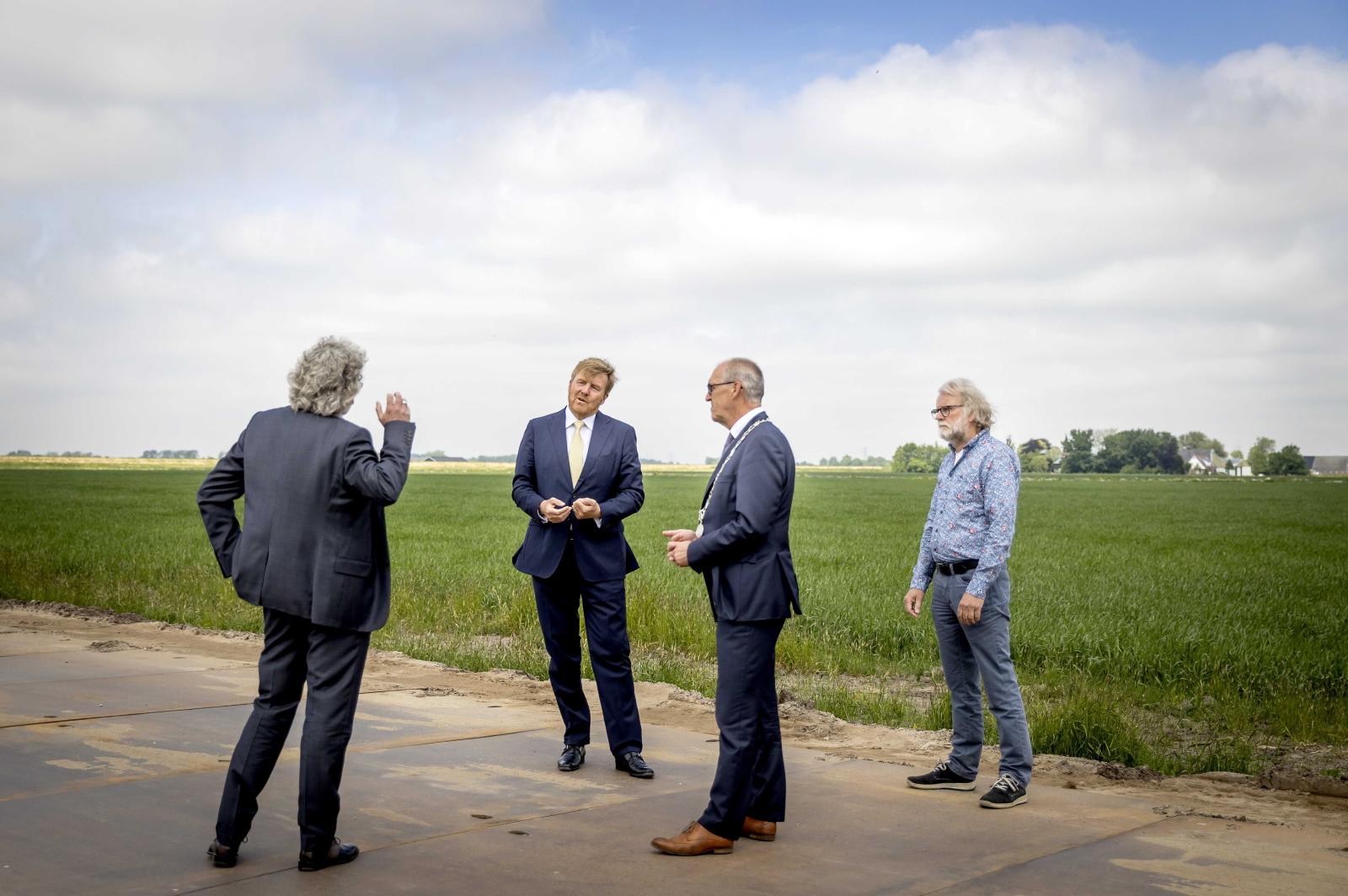 Holenderska rodzina królewska  EPA/KOEN VAN WEEL / POOL