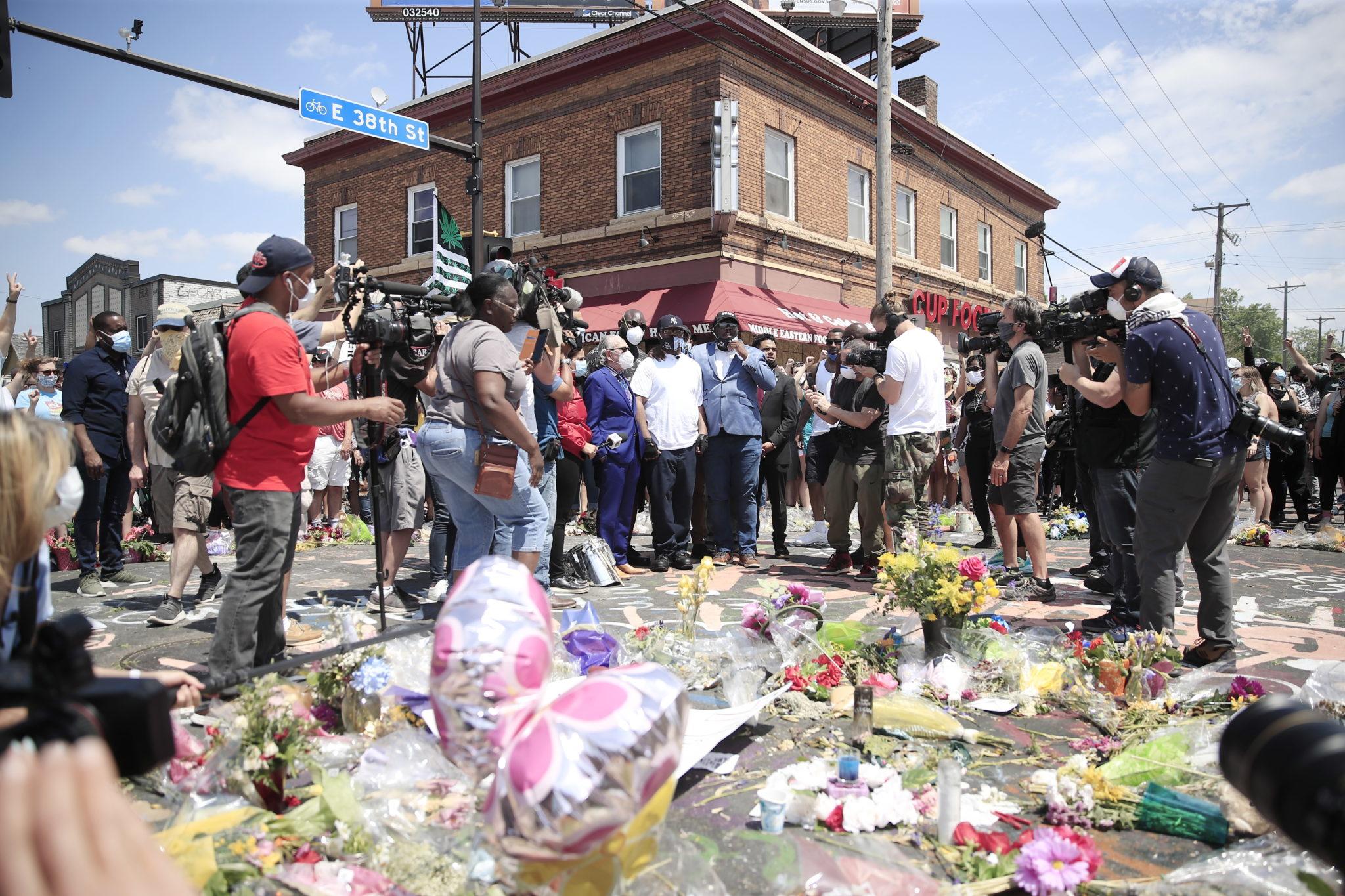 Protesty po śmierci Floyda. USa. Fot. EPA/TANNEN MAURY