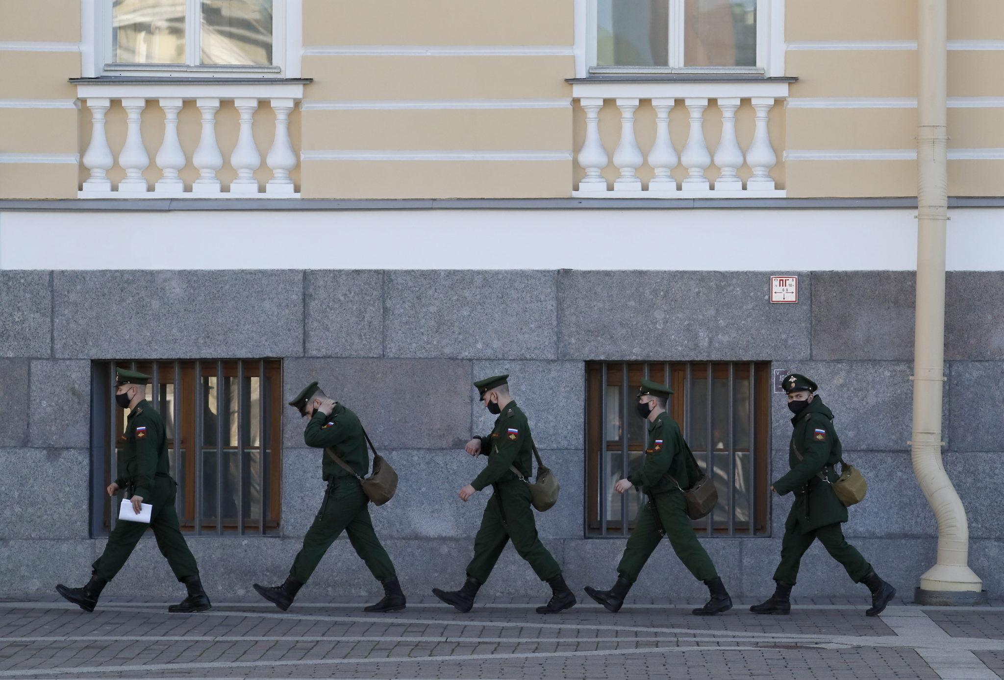 S. Petersburg. Fot. EPA/ANATOLY MALTSEV