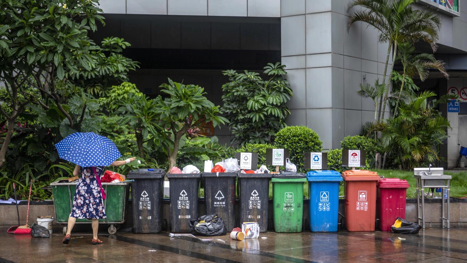 Światowy Dzień Środowiska - Chiny fot. PAP/EPA/ALEX PLAVEVSKI