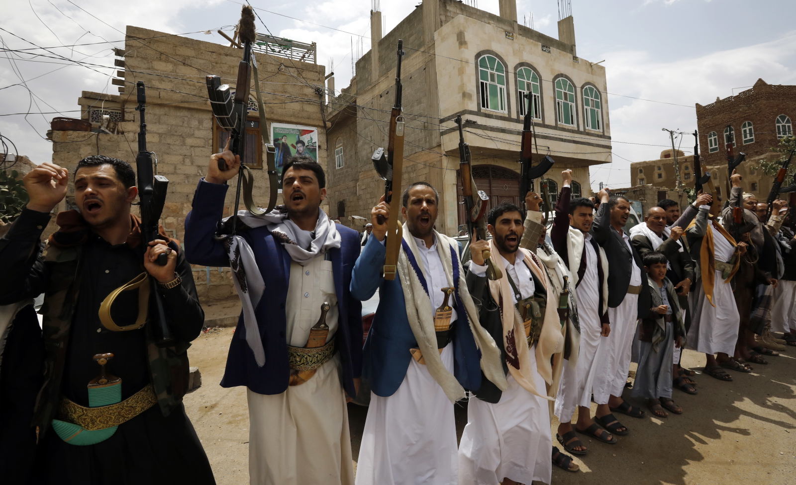 Konflikt w Jemenie EPA/YAHYA ARHAB