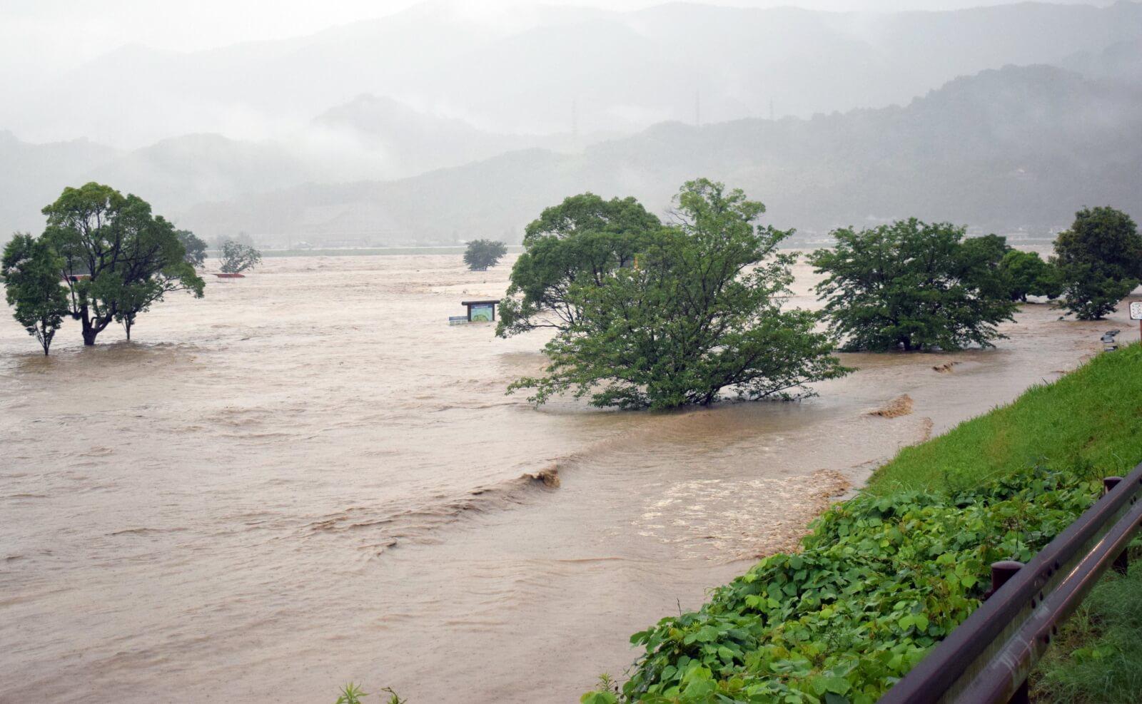 Powodzie w Japonii
