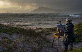 Sztormy w Południowej Afryce fot. EPA/NIC BOTHMA